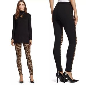 Chico's Natural Leopard Ultimate Fit Legging Pants